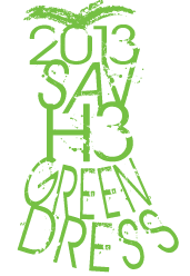 2013 SAV H3 Green Dress